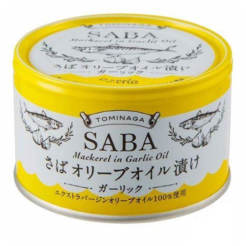 富永貿易 トミナガさば オリーブオイル ガーリック缶詰 150g