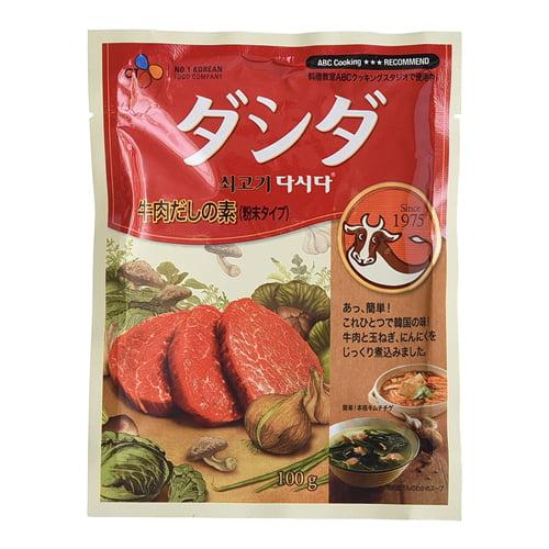CJジャパン 牛肉ダシダ 100g