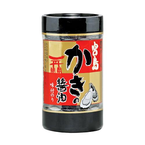 やま磯 宮島かきの醤油のりカップR 8切32枚