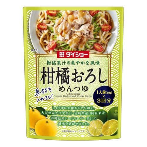 ダイショー 柑橘おろしめんつゆ 120g