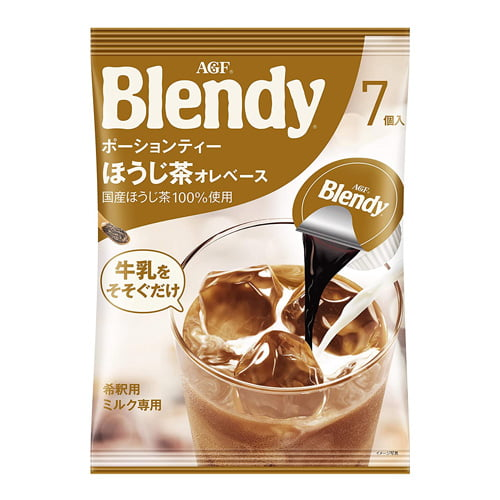 味の素AGF ブレンディ ポーションティー ほうじ茶オレベース 7個入