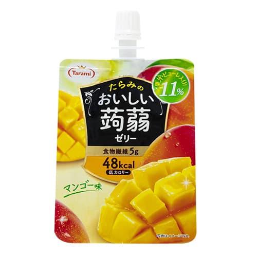たらみ おいしい蒟蒻ゼリー マンゴー味 150g