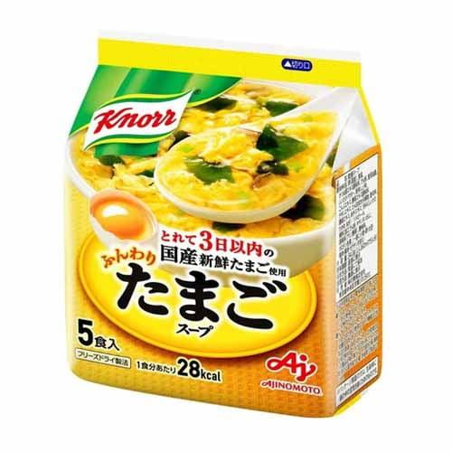味の素 クノール ふんわりたまごスープ 5食入