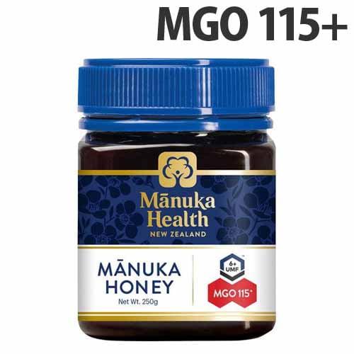 Manuka Health マヌカハニー MGO115+/UMF6+ 250g