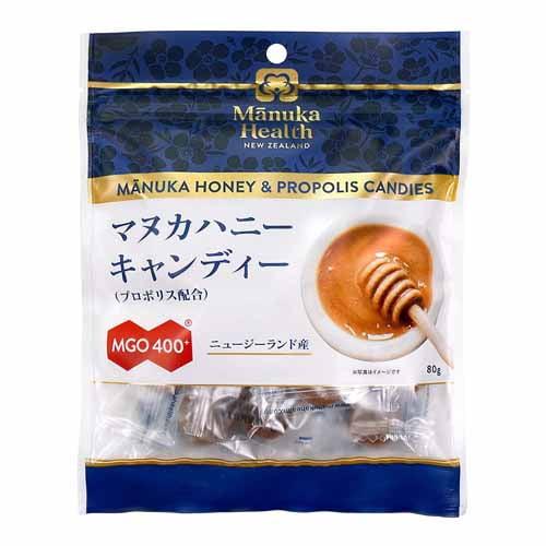 Manuka Health マヌカハニーキャンディー プロポリス 80g