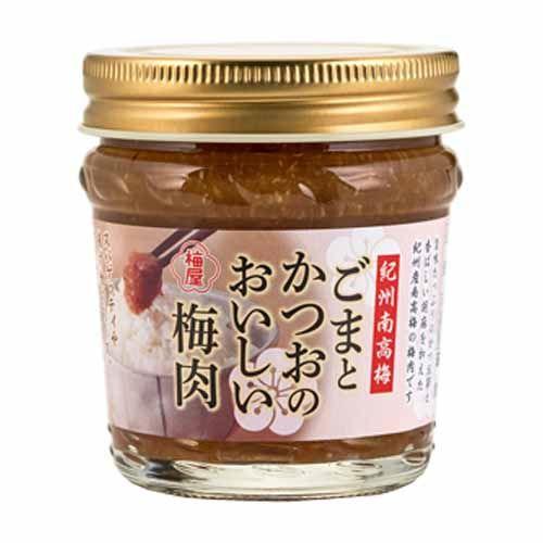 梅屋 ごまとかつおのおいしい梅肉 100g