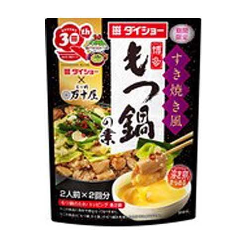 ダイショー すき焼き風博多もつ鍋の素 166.4g