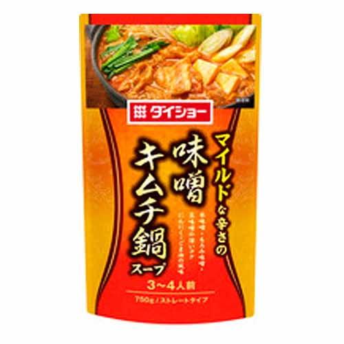 ダイショー 味噌キムチ鍋スープ 750g