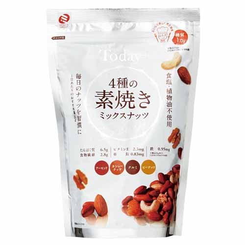 ミツヤ 4種の素焼きミックスナッツ 300g