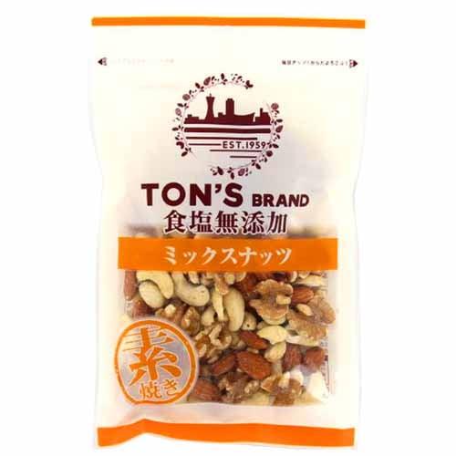 東洋ナッツ 食塩無添加 ミックスナッツ大 175g