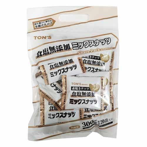 東洋ナッツ シェアパック 素焼きミックスナッツ 300g