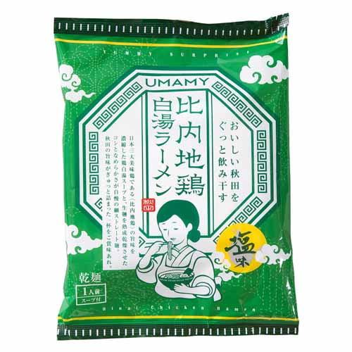 ノリットジャポン UMAMY 比内地鶏白湯ラーメン 塩味 130g