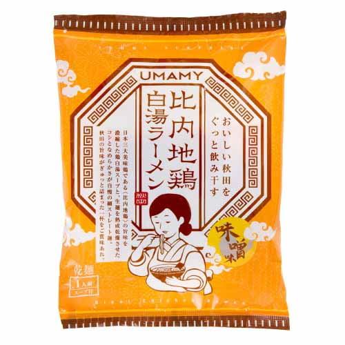 ノリットジャポン UMAMY 比内地鶏白湯ラーメン 味噌味 125g