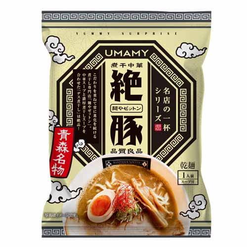 ノリットジャポン UMAMY 名店の一杯 【青森県】 麺やゼットン 120g