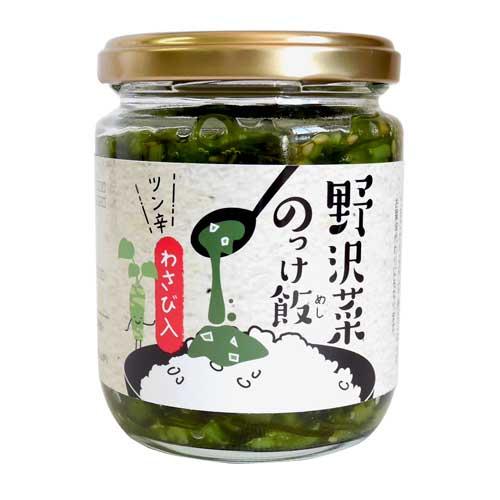 信州物産 野沢菜 のっけ飯 190g