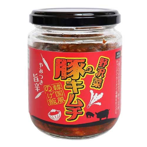 信州物産 野沢菜 豚キムチのっけ飯 180g