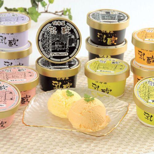 江戸屋 北海道乳蔵アイスクリーム 12個入