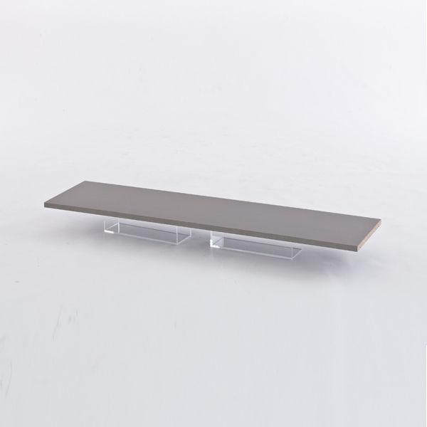 アール・エフ・ヤマカワ ハイカウンター ノルム 棚板W1200用 グレー Z-SHHC-12GY-OPT