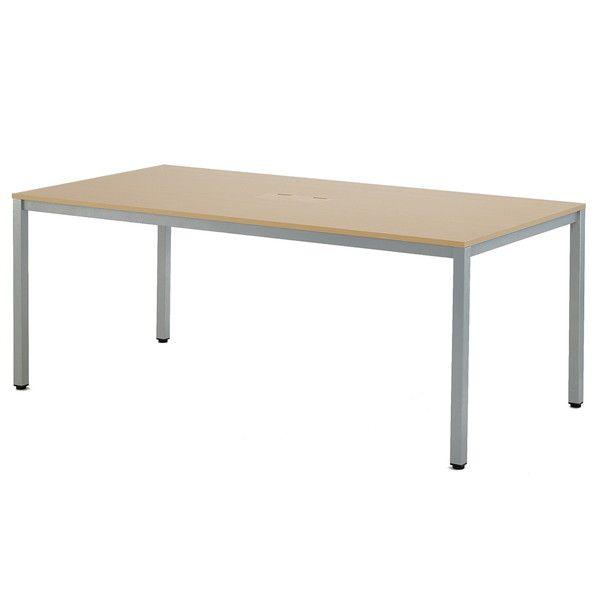 アール・エフ・ヤマカワ OAミーティングテーブル W1800 ナチュラル AT-1890TL