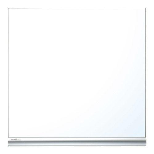 日学 メタルラインボード 壁掛けホワイトボード W888×H888 ML-330