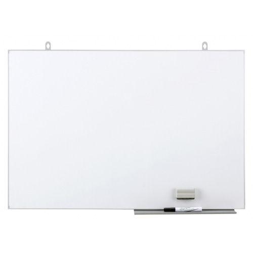 日学 壁掛 ライトフレームホワイトボード LTボード W890×H600 LT-13