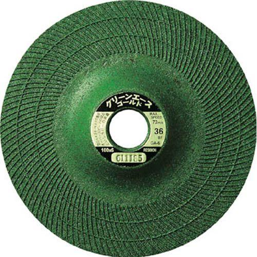 日本レヂボン 研削砥石 グリーンエースゴールドGA6 36 100×6×15 25枚 GA100636