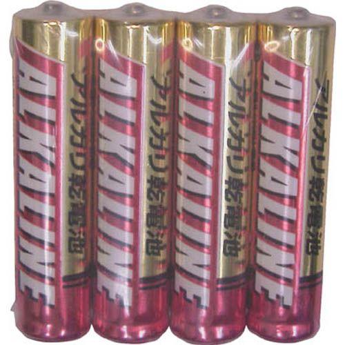 三菱電機 アルカリ乾電池 単4形 4本パック LR03R4S