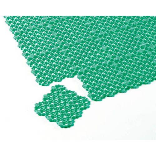 テラモト ジョイントスノコ マーブルマット 緑 1枚 MR0610721