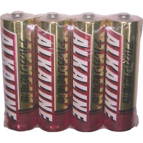 三菱電機 アルカリ乾電池単3形4本パック 1PK