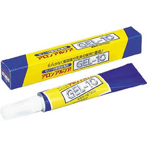 東亜合成 接着剤 アロン アロンアルファ ゼリー状 20g 1本 GEL1020