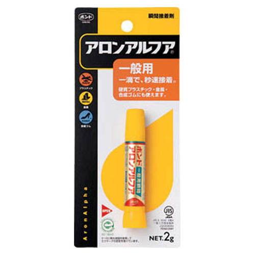 コニシ 接着剤 ボンドアロンアルファ #30114 2g(ブリスターパック) 1本 BAA2