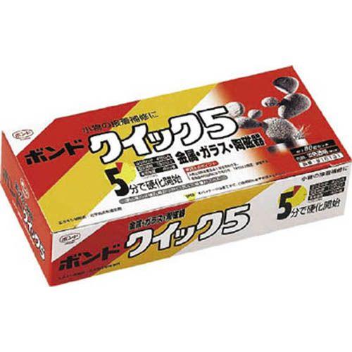 コニシ 接着剤 ボンドクィック5 #16131 80gセット(箱) 1S BQS80