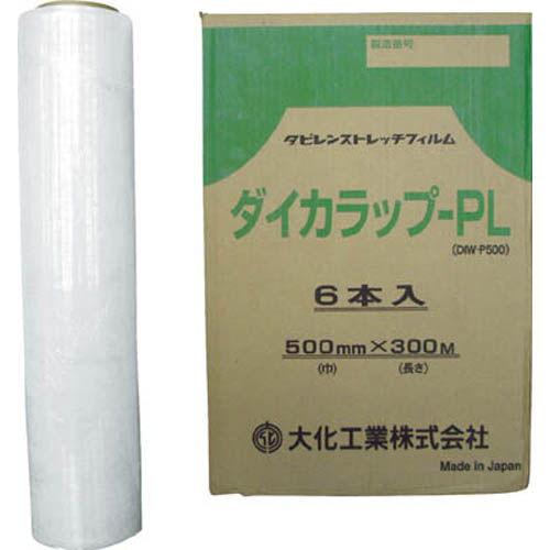 大化 ストレッチフィルム ダイカラップ-PL 6巻 DIWPL500