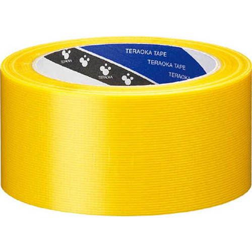 寺岡製作所 養生テープ P-カットテープ NO.4140 50mm×25M 黄 1巻 4140Y50X25