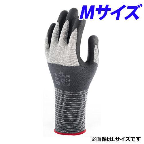 ショーワグローブ マイクログリップ 背抜き手袋 M NO.381