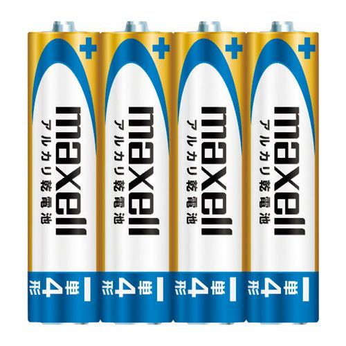 マクセル アルカリ乾電池単4 (4個入り) LR03(GD)4P