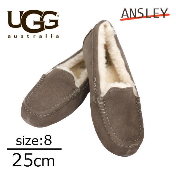 UGG アグ アンスレー ムートンシューズ ウィメンズ スレート 8(25cm) 1106878 Ansley