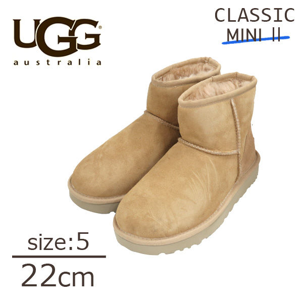 UGG アグ クラシックミニ II ムートンブーツ ウィメンズ ブロンザー 5(22cm) 1016222 Classic Mini