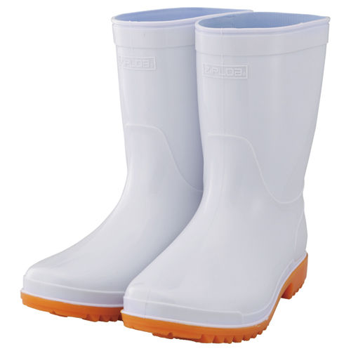 PVC長靴ショート HB-865/HB-866 22.5 ホワイト