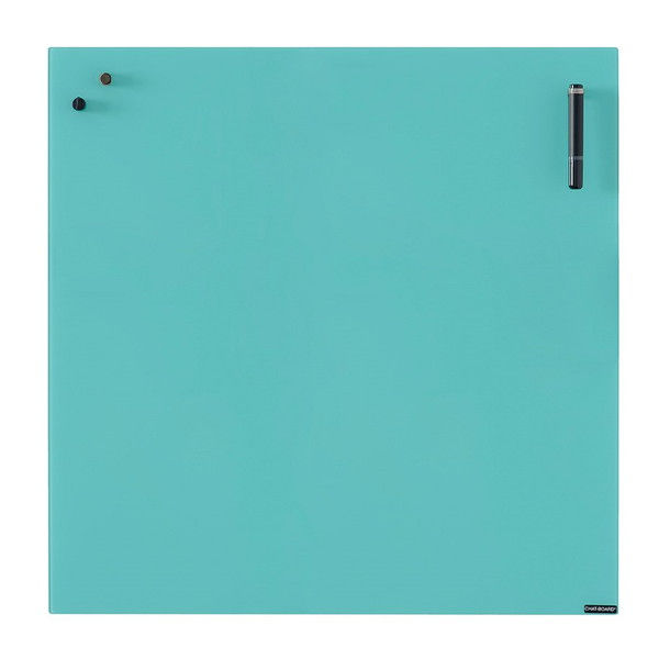 Garage チャットボード 70×70cm ターコイズ CHAT70