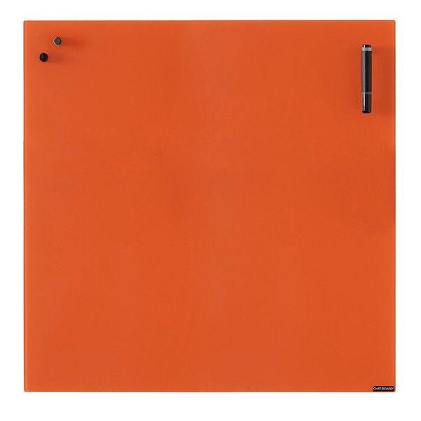 Garage チャットボード 70×70cm オレンジ CHAT70