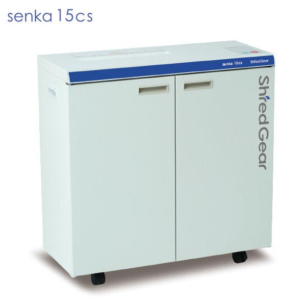 ライオン事務器 シュレッダー シュレッドギア 千嘉 senka15cs SEN-15CS