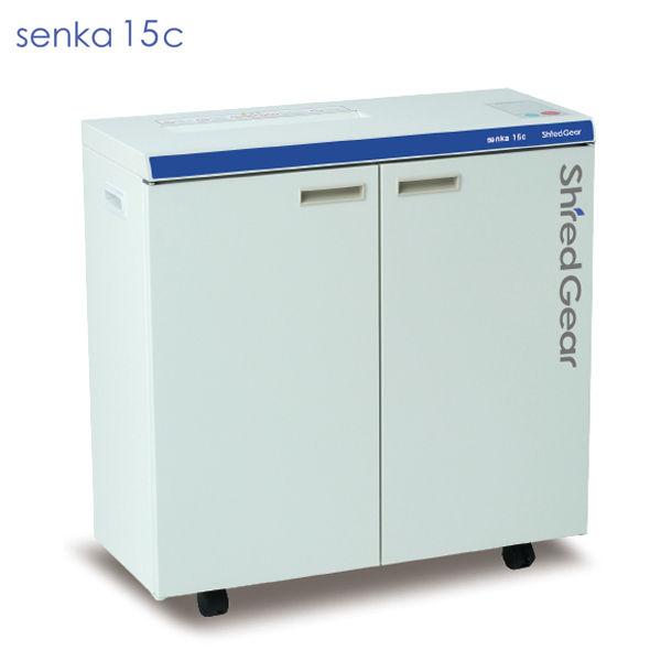 ライオン事務器 シュレッダー シュレッドギア 千嘉 senka15c SEN-15C
